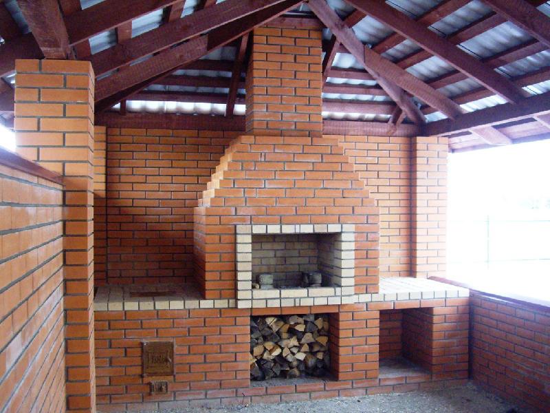 Кирпичные мангалы и барбекю интерьер квартиры с электрокаминами фото